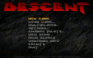 Descent.png - игры формата nes