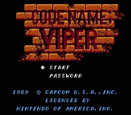 Code name - Viper.png - игры формата nes