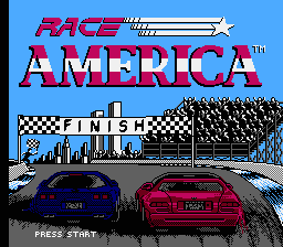 Race America (American race cars).png - игры формата nes
