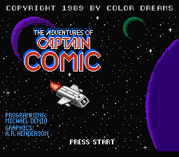 The adventures of captain Comic.png - игры формата nes