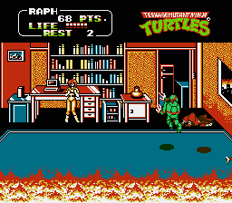 TMNT2 - The arcade game2.png - игры формата nes
