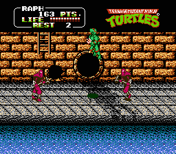 TMNT2 - The arcade game5.png - игры формата nes
