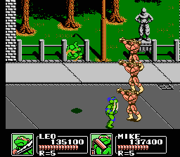 TMNT3 - The Manhattan project3.png - игры формата nes