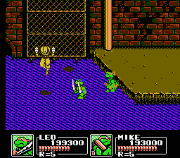 TMNT3 - The Manhattan project5.png - игры формата nes