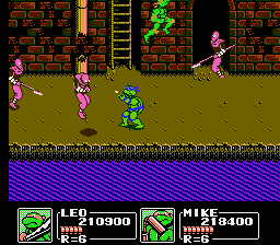 TMNT3 - The Manhattan project6.png - игры формата nes