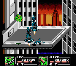 TMNT3 - The Manhattan project9.png - игры формата nes