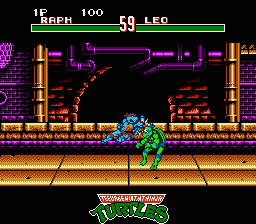 TMNT4 - Tournament fighters1.png - игры формата nes