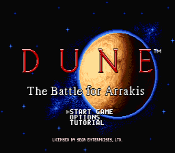 DUNE - The battle for Arrakis