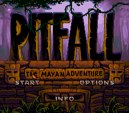 Pitfall- The Mayan Adventure