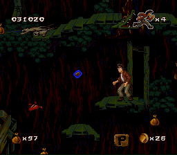 Pitfall- The Mayan Adventure6.png - игры формата nes