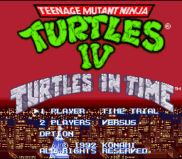 TMNT IV - Turtles in time